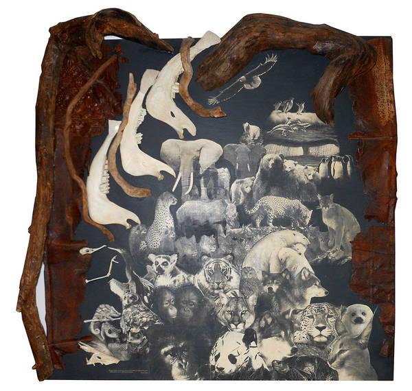 Harp Mixed Media - Awakening Awareness by Karen LeCocq