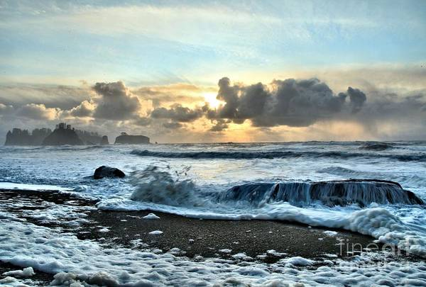 Photograph - Awash In The Sea by Adam Jewell