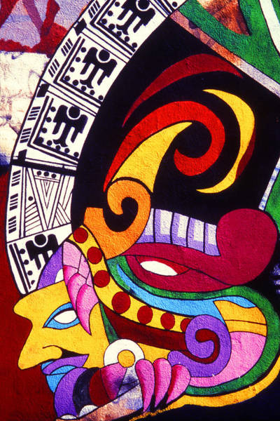 Photograph - Aztec - Graffiti Art by Paul W Faust -  Impressions of Light