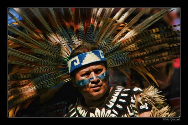 Photograph - Aztex Chief by Blake Richards