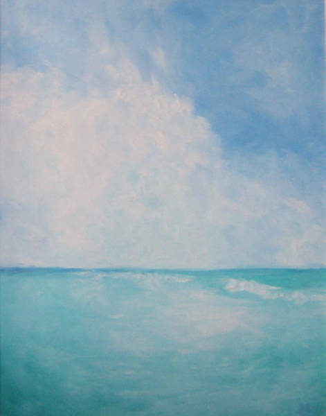 Painting - Azure by Susan Moore