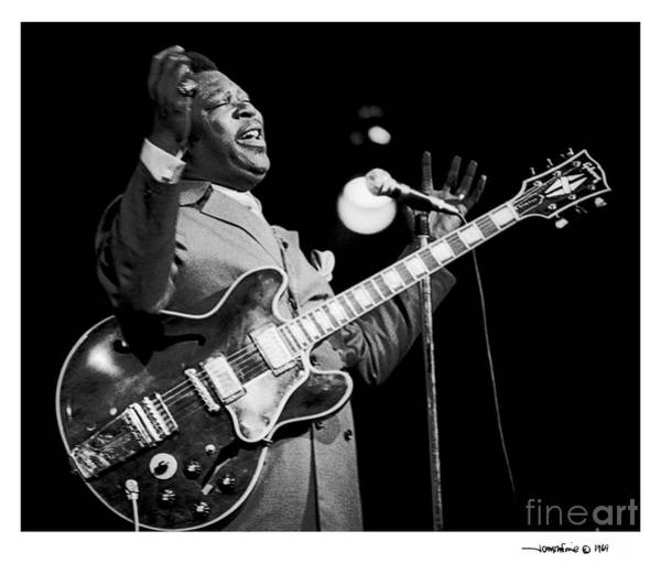 Photograph - B. B. King 1 by Jonathan Fine