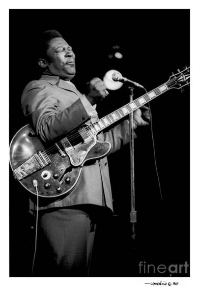 Photograph - B. B. King 3 by Jonathan Fine