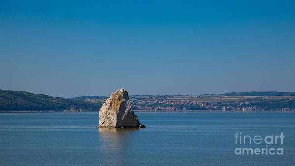 Wall Art - Photograph - Baba Caia Rock In Danube by Gabriela Insuratelu