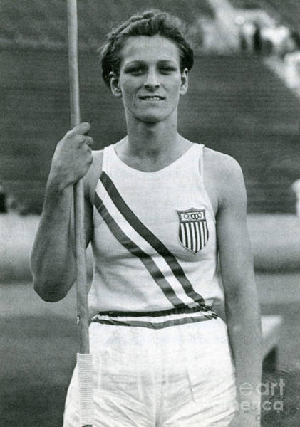 Photograph - Babe Didrikson, American Athlete by Photo Researchers
