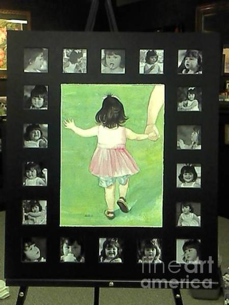 Wall Art - Painting - Baby Jaycee by Lisa Bell