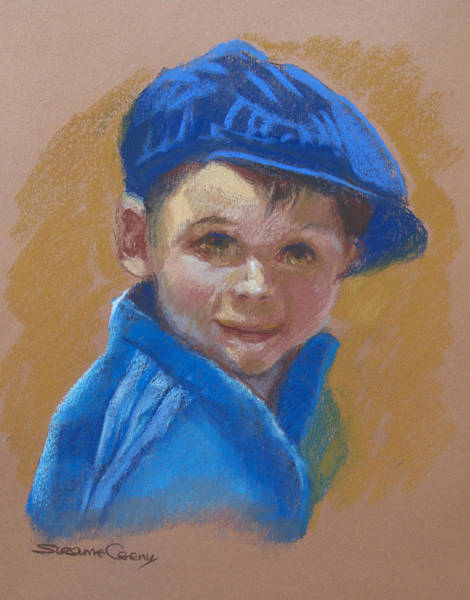 Painting - Baby Moses by Suzanne Cerny