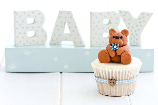 Wall Art - Photograph - Baby Shower Cupcake by Ruth Black