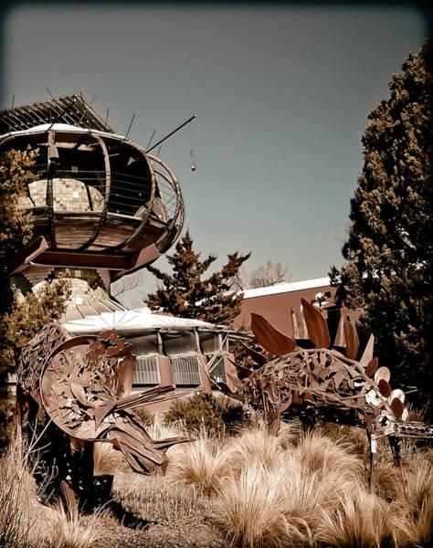 Albuquerque, New Mexico - Back To The Future Art Print