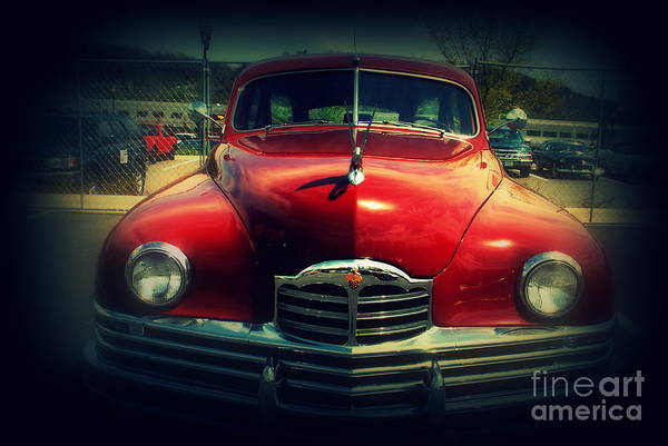Wall Art - Photograph - Back To The Future Packard by Susanne Van Hulst