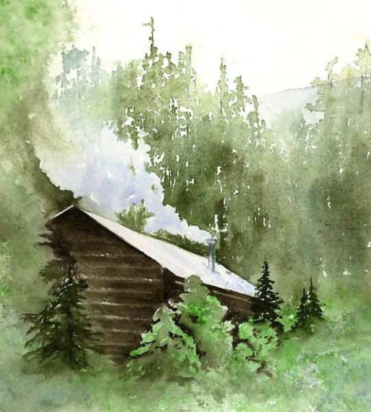 Painting - Backcountry Morning by Marsha Karle