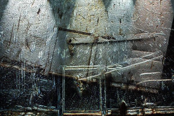 Dump Truck Digital Art - Backdrop by Janet Kearns