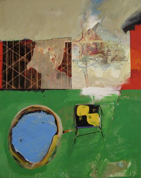 Painting - Backyard-2 Wonder  -m- by Cliff Spohn