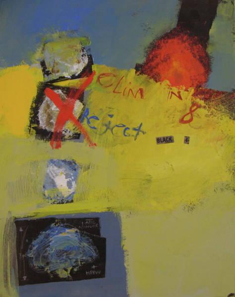 Painting - Backyard-6 Curiosity  -m-  by Cliff Spohn