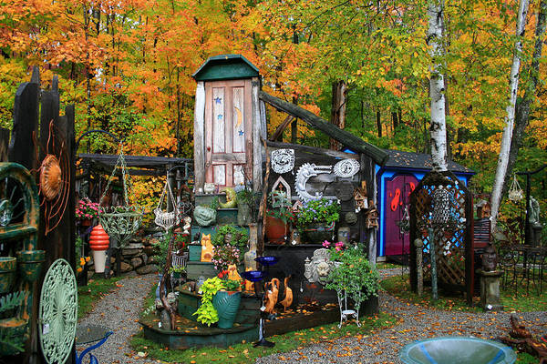 Photograph - Backyard Craft Show by Larry Landolfi
