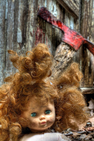 Chucky Wall Art - Photograph - Bad Hair Day by JC Findley