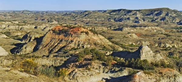 North Dakota Badlands Wall Art - Photograph - Bad Lands  by Michael Peychich