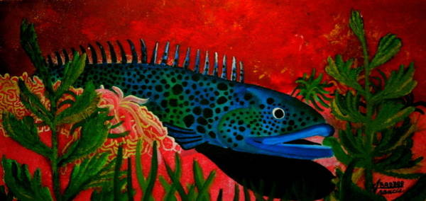 Badbluefish Art Print