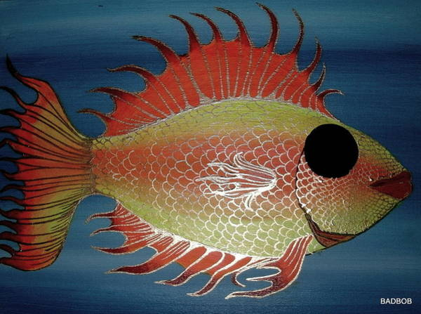 Badfish Art Print