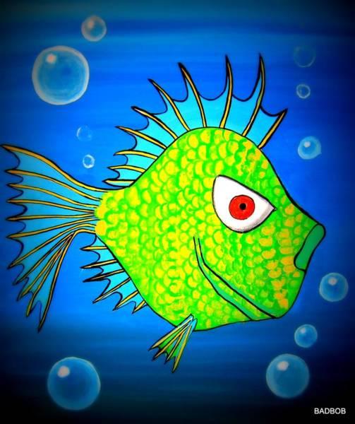Badfishy Art Print