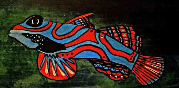 Badfruityfish Art Print