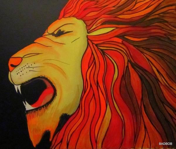 Badlion Art Print