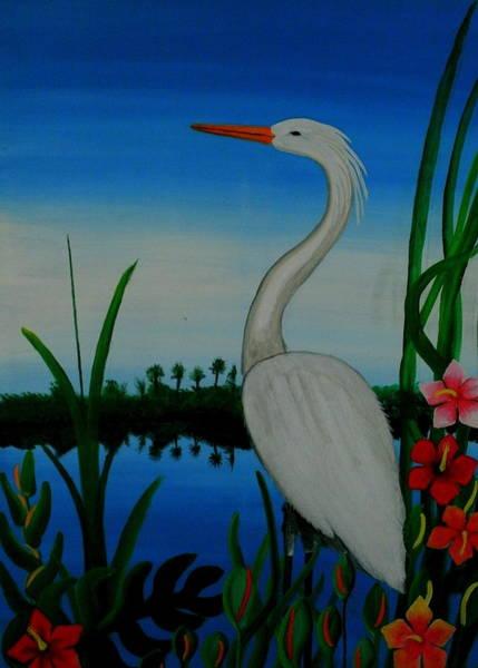 Badswan Bird Type Thing  Art Print