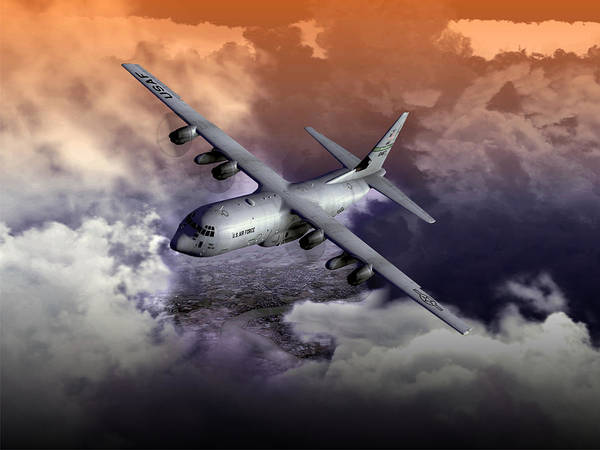 Digital Art - Baghdad Express 01 by Mike Ray