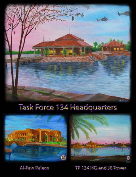 Baghdad Painting - Baghdad Memories by Michael Matthews