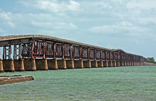 Bahia Honda Photograph - Bahia Honda Bridge by Ty Helbach
