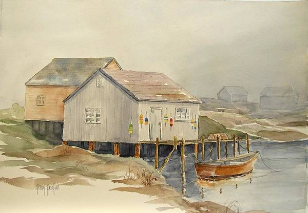 Painting - Bait Shop by Gary Partin