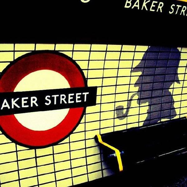 London Wall Art - Photograph - Baker Street Station, May 2012 | by Abdelrahman Alawwad