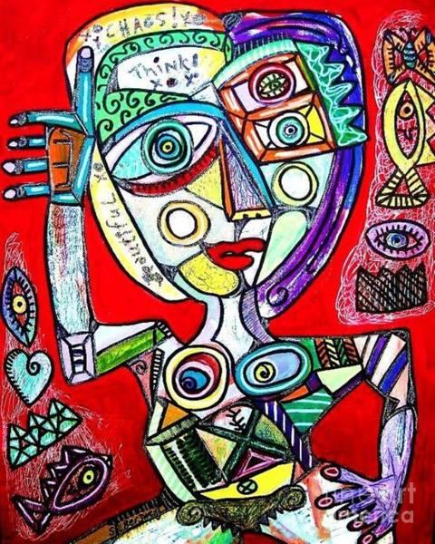 Balancing Chaos Art Print