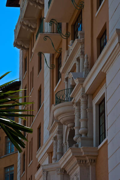 Photograph - Balcony At The Biltmore Hotel by Ed Gleichman