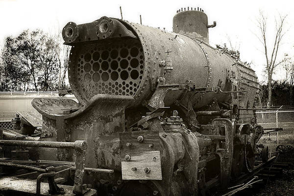 Photograph - Baldwin Locomotive by Scott Hovind