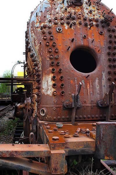 Photograph - Baldwin Steam Locomotive by Scott Hovind