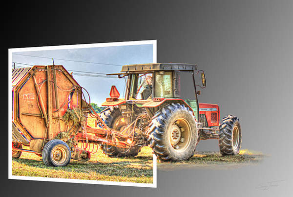 Photograph - Baling Out by Barry Jones