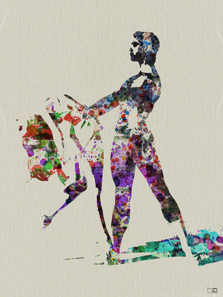 Ballerinas Painting - Ballet Dance by Naxart Studio