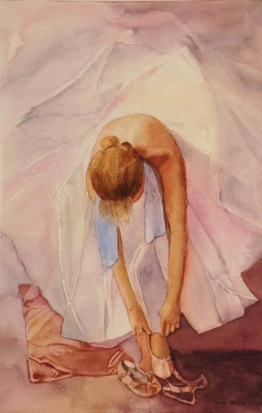 Painting - Ballet Dancer by Lynne Atwood