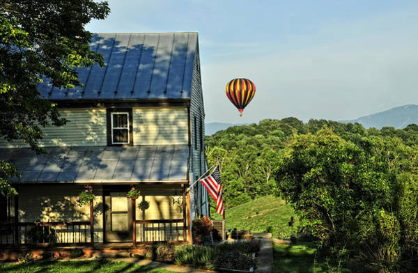 Photograph - Balloon Country  by Lara Ellis