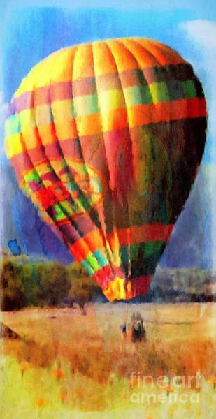 Photograph - Balloon Landing In Los Frailes by John  Kolenberg