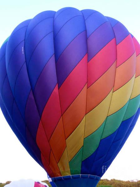 Photograph - Balloon Rainbow by Mark Dodd
