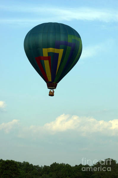 Photograph - Balloons In Blue Skies  by Tom Luca