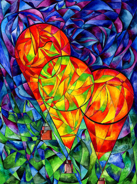 Painting - Balloons by Sherry Shipley