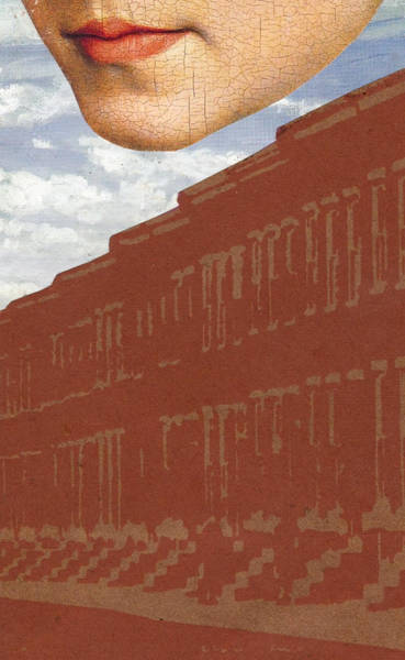 Brick House Mixed Media - Baltimore Dream by Nancy Mitchell