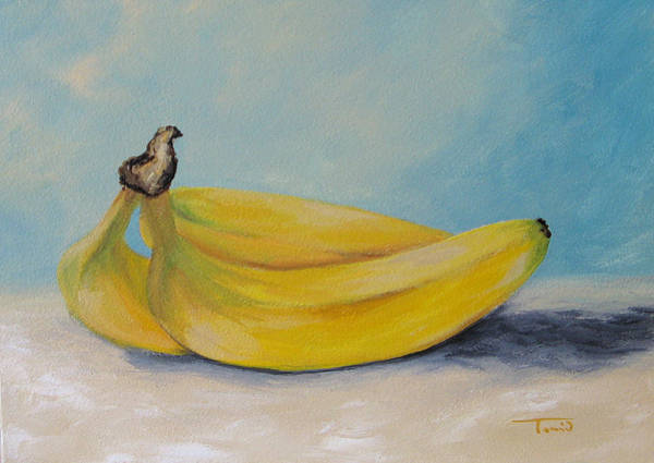 Wall Art - Painting - Bananas II by Torrie Smiley