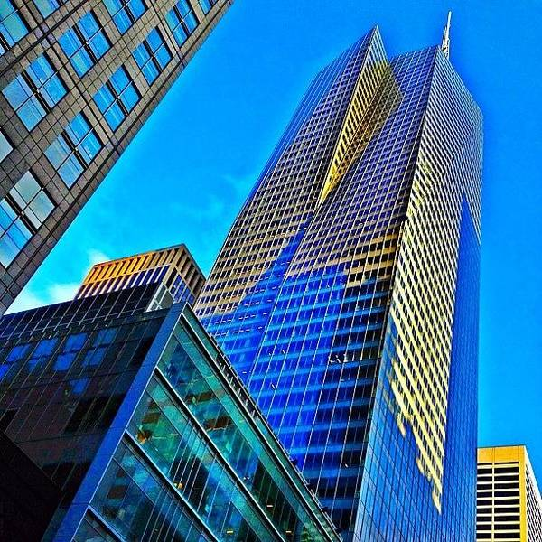 Skyscraper Photograph - Bank Of America Tower - Ny  by Joel Lopez