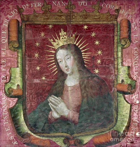 Artifact Painting - Banner Of Hernan Cortes by Granger