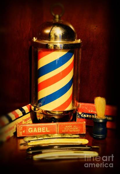 Taper Photograph - Barber - Barber Pole by Paul Ward