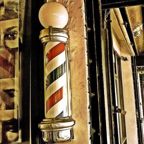 Old Wall Art - Photograph - Barbershop by Joel Lopez